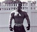 Pro Wrestler John Quinlan as Shane O'Kane (unmasked) 2001.jpg