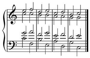 Predominant chord - The circle progression features a series of chords derived from the circle of fifths preceding the dominant and tonic.