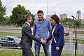 Przewodniczący Klubu Parlamentarnego PO Tomasz Tomczykiewicz, kierowca rajdowy Krzysztof Hołowczyc oraz Wiceprzewodnicząca Klubu PO Małgorzata Kidawa - Błońska (6146777577).jpg
