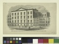 Public schools. Front elevation of Ward School No. 13, in Houston near Norfolk Street, Seventeeth Ward (NYPL Hades-1803748-1659345).tiff