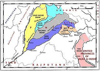 Doaba region of Punjab, India