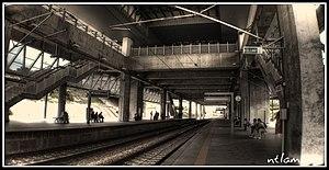 Putrajaya Sentral, Putrajaya - Image: Putrajaya erl station