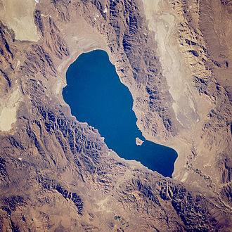 Total dissolved solids - Pyramid Lake, Nevada receives dissolved solids from the Truckee River.