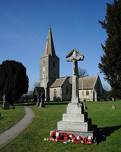 Quedgeley Church War Memorial.jpg