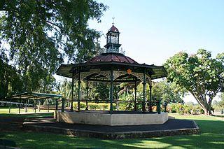 Heritage listed park in Queensland, Australia