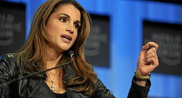 Queen Rania, World Economic Forum 2010.jpg