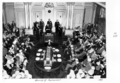 Queensland State Archives 4642 Opening of Parliament Governor speaking August 1952.png