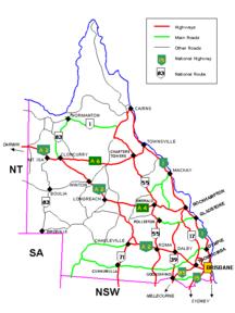 Queensland-Infrastrutture e trasporti-Queenslandroads