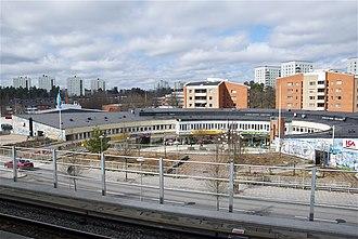 Rågsved - Image: Rågsved 2012c