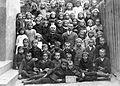 Római katolikus elemi iskola, csoportkép a III-IV. osztályról, 1921-22 tanév. Fortepan 4666.jpg