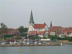 Rønne, Bornholm.
