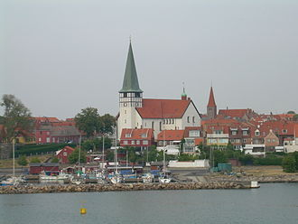 Rønne - Rønne in late-July 2006