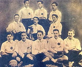 RCD Espanyol - CD Español, Catalonian champions in 1904