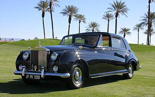 Rolls-Royce Phantom V car model
