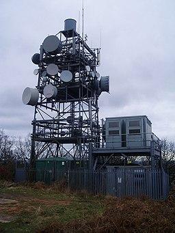 Radio Mast at Bardon Hill - geograph.org.uk - 304946