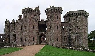 Monmouthshire - Raglan Castle