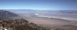 Troy Peak - Railroad Valley, looking southwest from the summit of Troy Peak