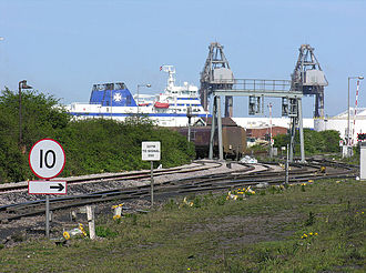 North East Lincolnshire - Immingham docks