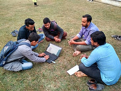 Rajshahi Wikipedia meet up, December 2018 01.jpg