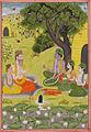Rama, Sita and Lakshmana at the hermitage.jpg