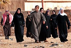 Ramadi residents after voting in Iraqi parliamentary election 2010-03-07.jpg