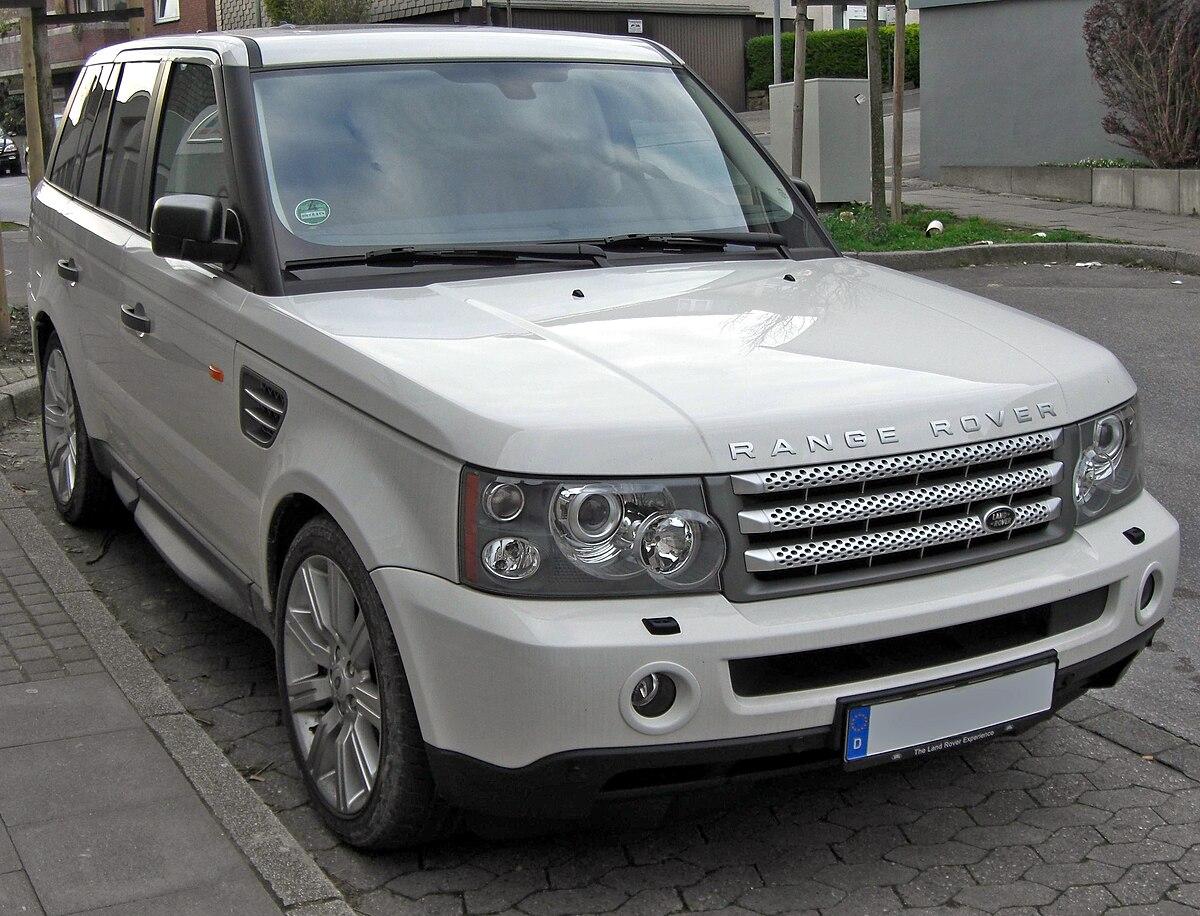Range Rover Sport Wikipedie