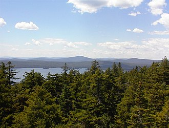 Rangeley, Maine - View from Bald Mountain