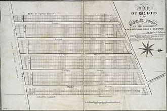 Joris Jansen Rapelje - Property of the Rapelje family, Brooklyn, ca. 1835