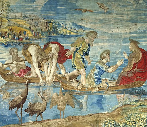 Raphael, The Miraculous Draught of Fishes. Vatican Museums