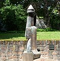 Raschi-Statue vor der Synagoge - panoramio.jpg