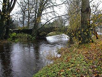 Rathangan, County Kildare - The Slate River.