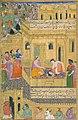 Ravana deceiving Sita with the illusion of Rama's severed head MUGHAL INDIA, 1594 AD.jpg