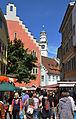 Ravensburg Wochenmarkt 2011-07-16 Marktstraße.jpg