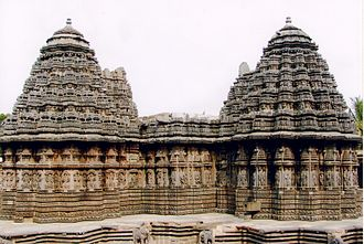 1260s in architecture - Image: Rear View of Keshava Temple at Somanathapura
