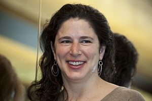Rebecca Traister - at the JWA Making Trouble/Making History luncheon, 2012