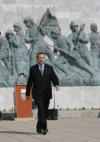 English: Recep Tayyip Erdoğan, Prime Minister ...