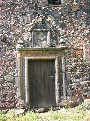 Redhouse Castle - Image: Redhouse Castle Door