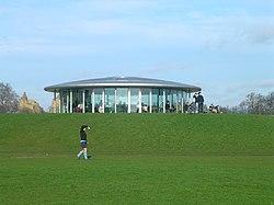 Café do Cricket ground de Regents Park