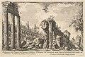 Remains of the Temple of Castor and Pollux . . . ( Avanzo del Tempio di Castore e Polluce . . .) MET DP827955.jpg