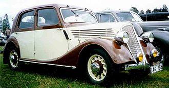 Renault - Renault Celtaquatre, 1935