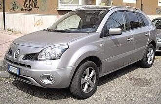 Renault Koleos - Image: Renault Koleos front