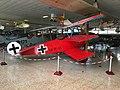 Replica Fokker DR.I at Museo de Aeronáutica y Astronáutica de España 05.jpg