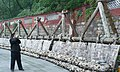 Replica of the old man-made dam, Dujiangyan Irrigation System - panoramio.jpg