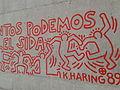Reproducció mural Keith Haring Barcelona 03.jpg