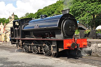 Hunslet Austerity 0-6-0ST - Hunslet 0-6-0ST Austerity no 3794 Repulse at the Lakeside and Haverthwaite Railway