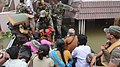 Rescue operations by Army in Chennai on December 03, 2015.jpg