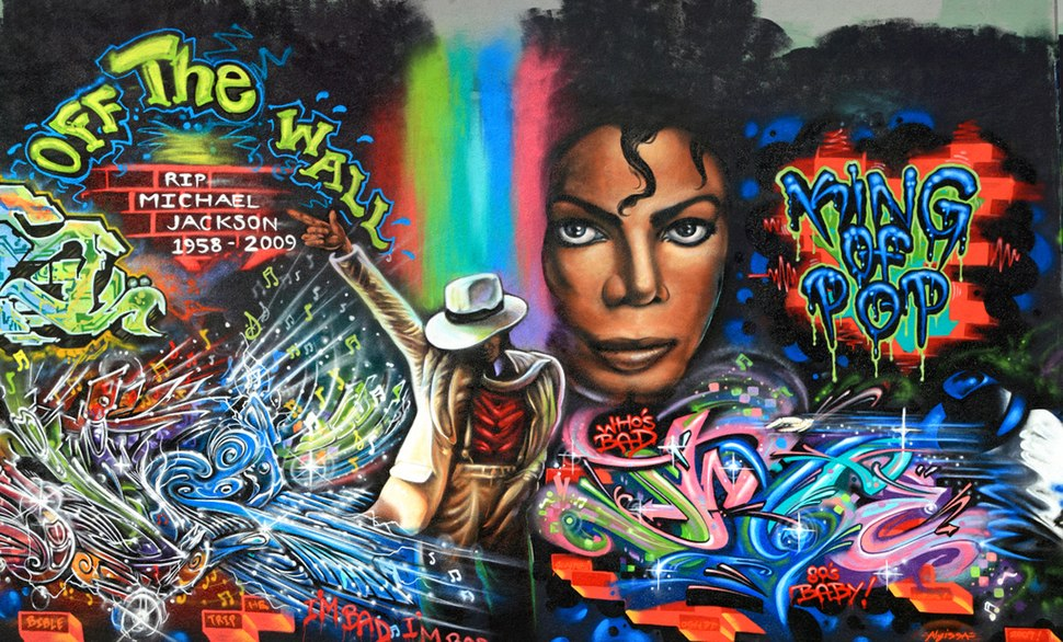 Rest In Peace Michael Jackson. King of Pop.cropped