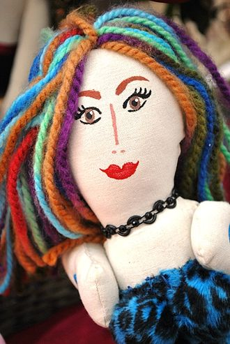 Ana Karen Allende - Face of one of the dolls