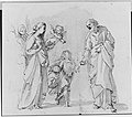 Return of the Holy Family from Egypt (recto); Studies for the Return from Egypt (verso) MET 177352.jpg