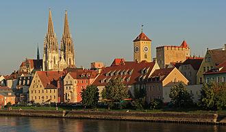 Regensburg - Image: Rgbg dom und rathaus